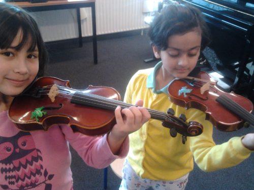 kind viool